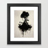 Last Tree Standing Framed Art Print