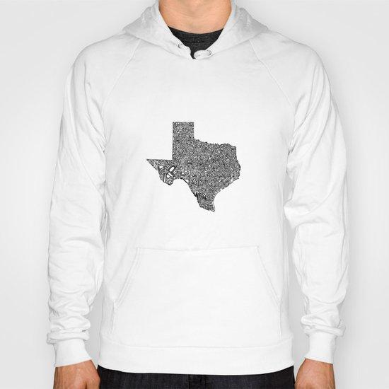 Typographic Texas Hoody