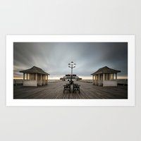 Cromer Pier, Norfolk Art Print