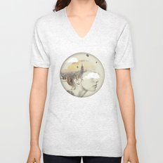 New York City Drifting Unisex V-Neck