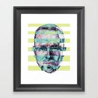 BREAKING BAD JESSE/WALTE… Framed Art Print