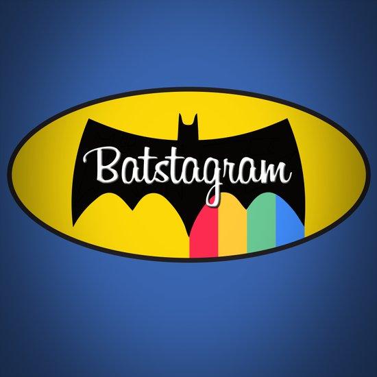 Batstagram Art Print