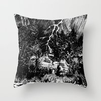 The Picture In The House Throw Pillow