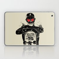 SKATE OR DIE Laptop & iPad Skin