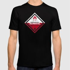 Kemical Black SMALL Mens Fitted Tee
