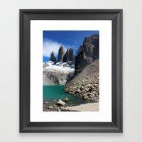 Mirador Las Torres, Pata… Framed Art Print
