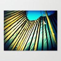 carnival tent Canvas Print