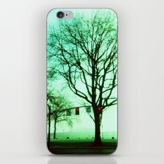 Green Fog iPhone & iPod Skin