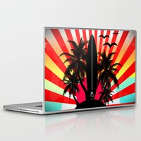 surf Laptop & iPad Skins featuring Surf by mark ashkenazi