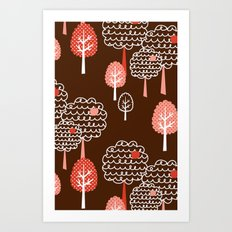 Forest Wonderland Art Print