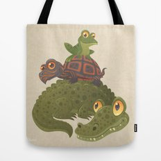 Swamp Squad Tote Bag