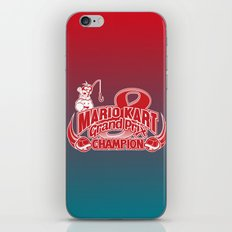 Mario Kart 8 Champion iPhone & iPod Skin