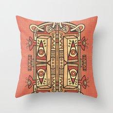 Tribalien Throw Pillow