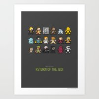 Mega Star Wars: Episode … Art Print