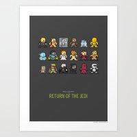 Mega Star Wars: Episode IV - Return of the Jedi Art Print
