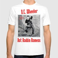 D.C. Wheeler Mens Fitted Tee White SMALL