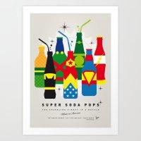 My SUPER SODA POPS No-26 Art Print