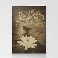 Lotus in My Dreams Stationery Cards