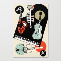 Jazz Combo Canvas Print