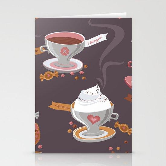 Fresh Coffee Stationery Card