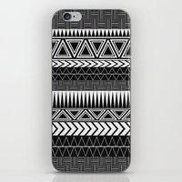 Tribal Monochrome. iPhone & iPod Skin
