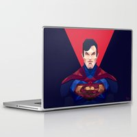 superman Laptop & iPad Skins featuring Superman by Muito
