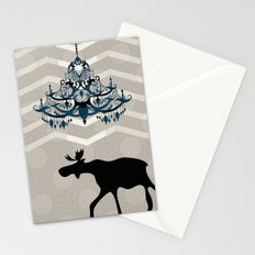 A Moose finds home Stationery Cards