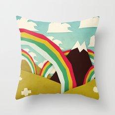 Happy happy joy joy! Throw Pillow