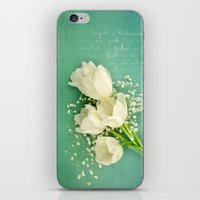 French White Tulips And … iPhone & iPod Skin