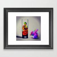 MixMotion: Squirrel Sours Framed Art Print