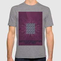 Limited Slip Differentials Mens Fitted Tee Athletic Grey SMALL