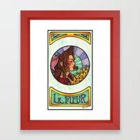 FFVII - Aeris Gainsborou… Framed Art Print