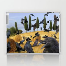 Crows in Tuscany Laptop & iPad Skin