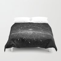 STARGAZING IS LIKE TIME TRAVEL Duvet Cover