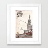 Moscow III Framed Art Print