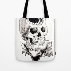 The Laughing Dragon Tote Bag