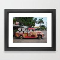 Rum Runner Framed Art Print