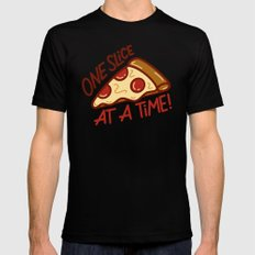 One Slice Mens Fitted Tee Black SMALL
