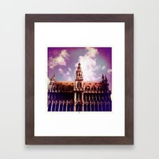 Brussels Framed Art Print