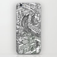 The Town of Train 2 iPhone & iPod Skin
