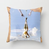 Tarot Series: The Moon Throw Pillow