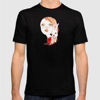Real Beauty is without Cruelty Mens Fitted Tee Black SMALL