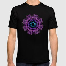 Celtic Brooch Mens Fitted Tee Black SMALL