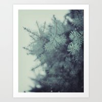 Winter Wishes Art Print
