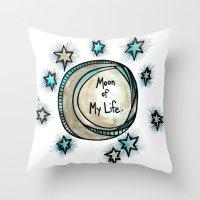 Moon of My Life - Khal and Khaleesi Throw Pillow
