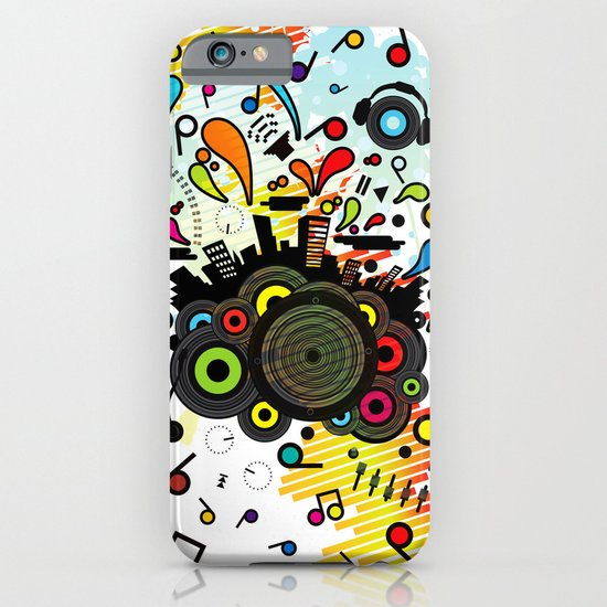 POP_MUSIC iPhone & iPod Case