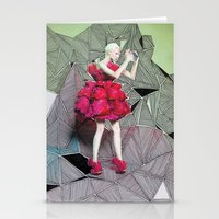 Alexander McQueen Doodle Bomb by Downtown Doodler Stationery Cards