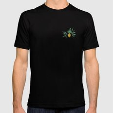 Plantation Mens Fitted Tee Black SMALL