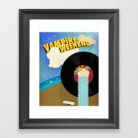 Vampire Weekend - Chicag… Framed Art Print