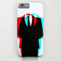iPhone & iPod Case featuring Anonymous.1 by Laure.B